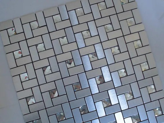 peel and stick tiles self adhesive mosaic easy tile etsy