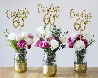 60th Birthday Decor Etsy