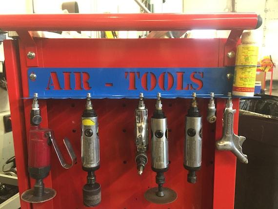 air tool organizer rack etsy