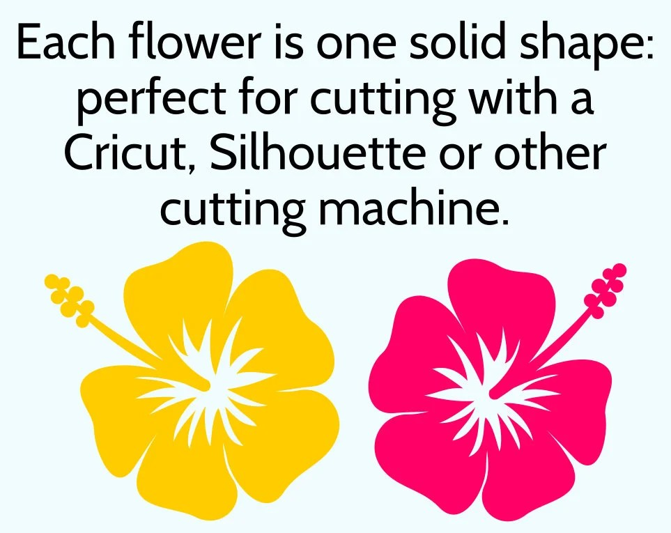 Download Hibiscus SVG Flower Cut File for Cricut & Silhouette ...