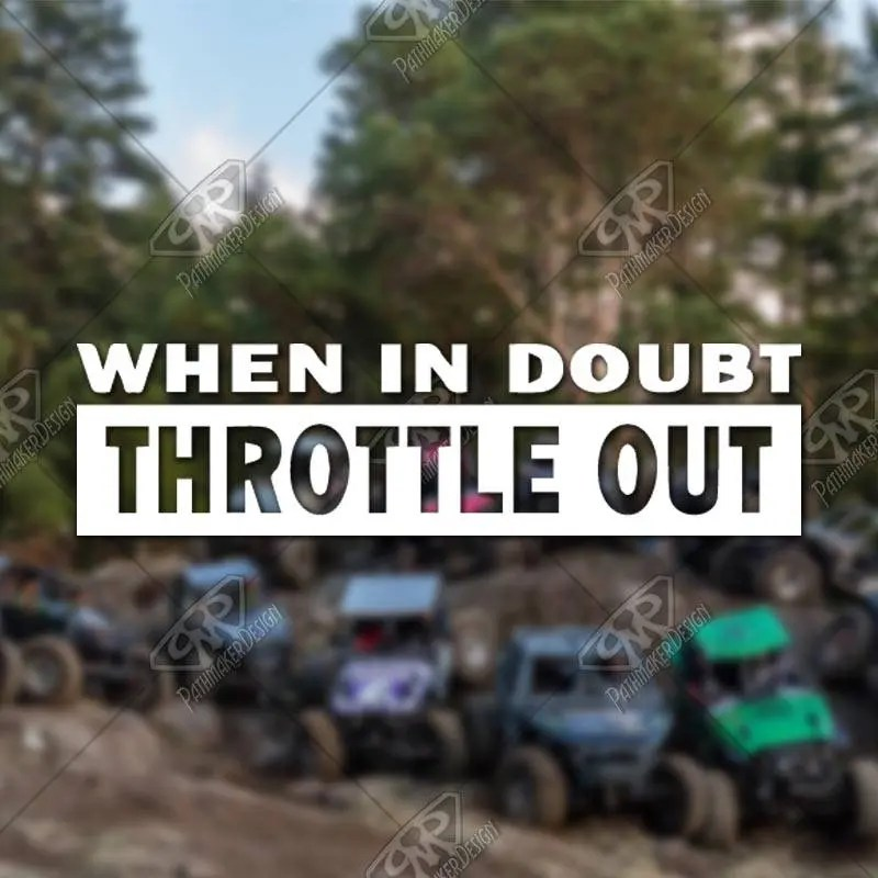 DECAL – [Throttle Out] ...