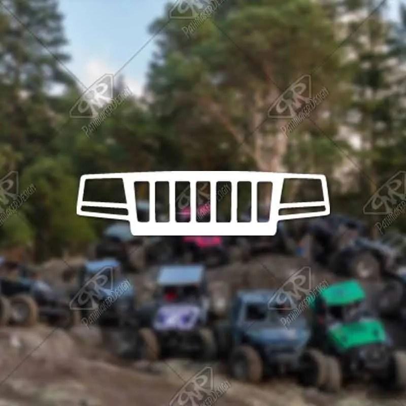 DECAL - [Jeep WJ Grill] -...