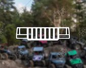 DECAL - [Jeep ZJ Grill] -...