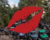 DECAL - [Lips] - Vinyl De...
