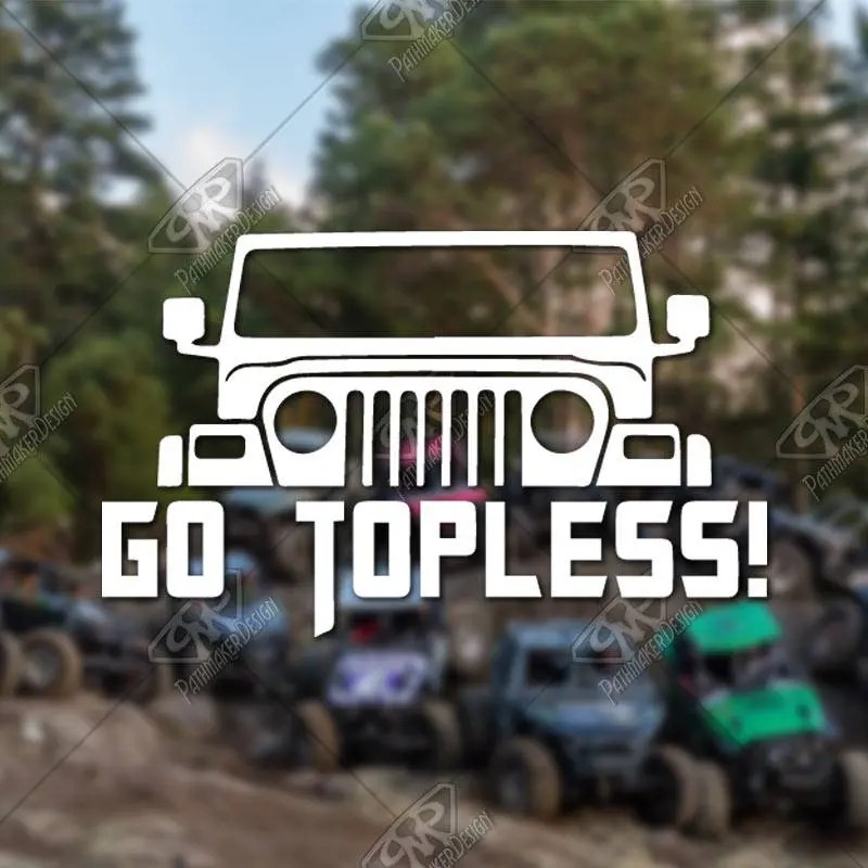 DECAL - [Go Topless] - Vi...