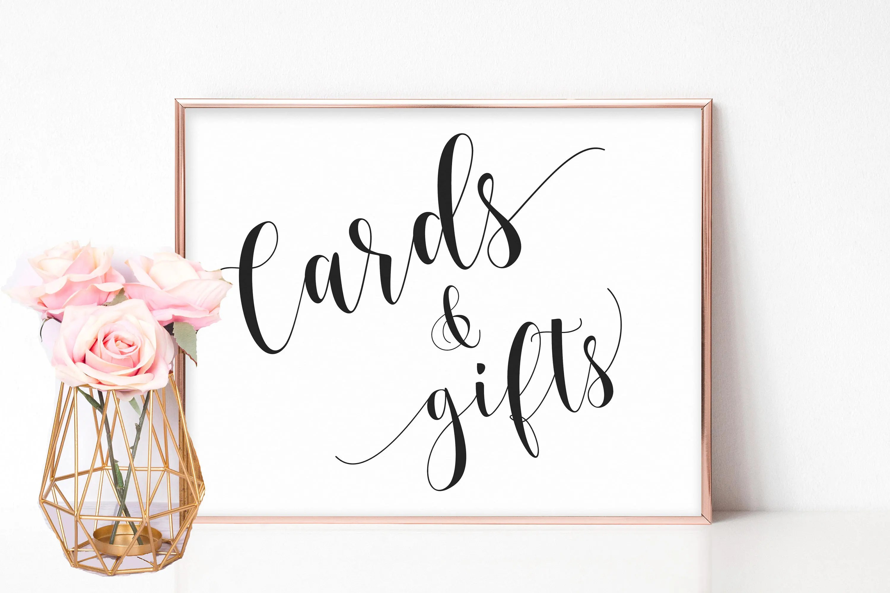 Cards And Gifts Sign Printable Gift Table Sign Cards Sign Gifts Sign Wedding Wedding Gift Table Baby Shower Signs Bridal Shower Signs