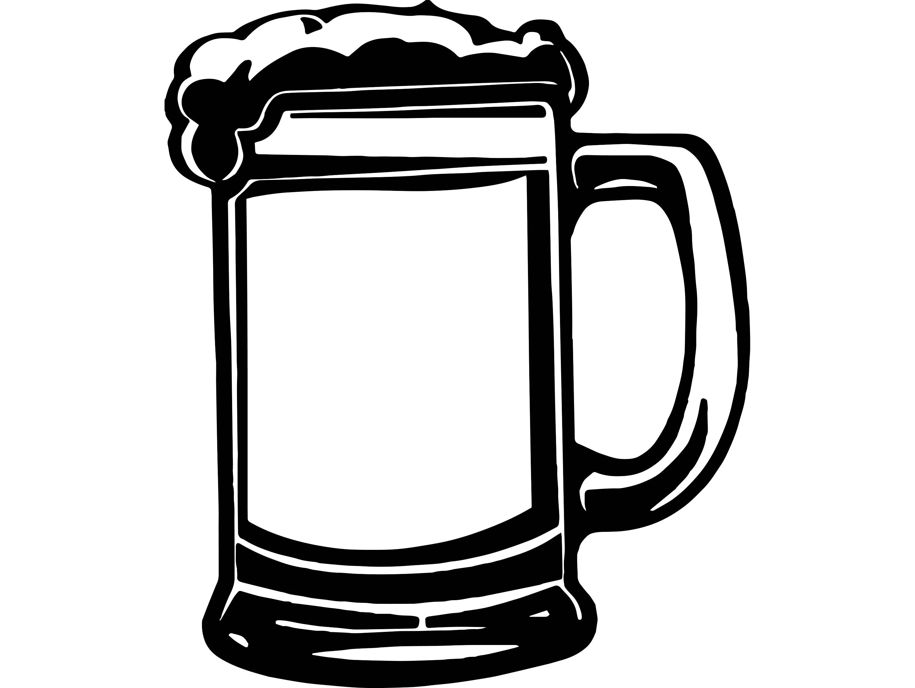 Beer Mug Cerveza Delicious Recreational Drink Alcohol Cold