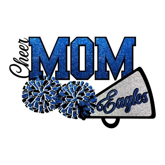 Download Eagles Cheer Mom SVG | Etsy