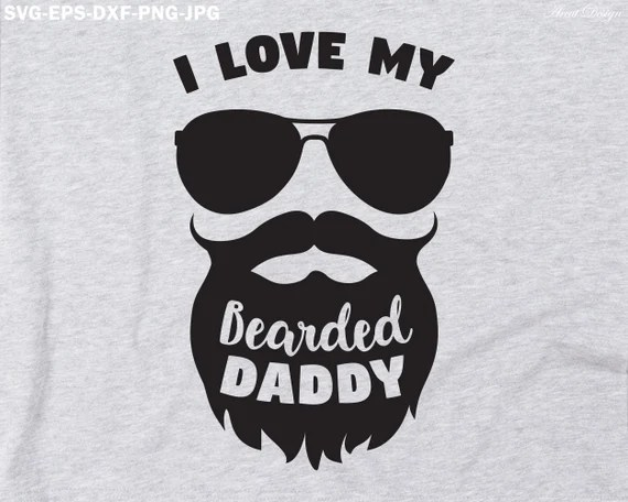 Download Download Bearded Dad Svg for Cricut, Silhouette, Brother ...