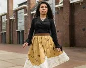 Skirt Orcher and Light br...