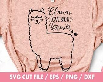 Download Llama svg | Etsy