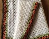 Crochet Baby Blanket - In the Jungle