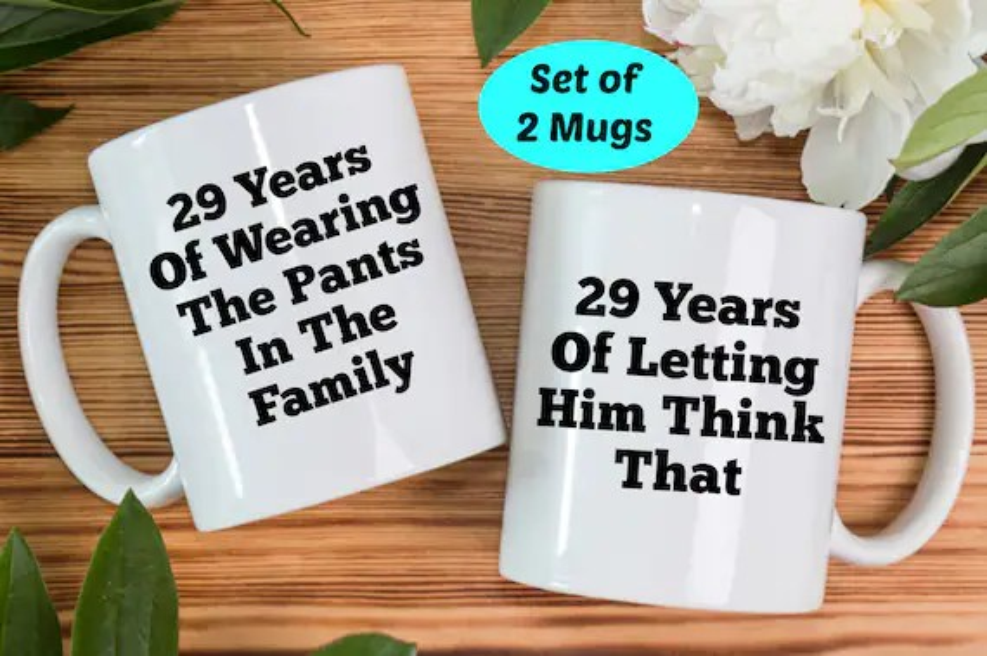 29th Anniversary Gifts 29th Anniversary Mugs 29th Wedding