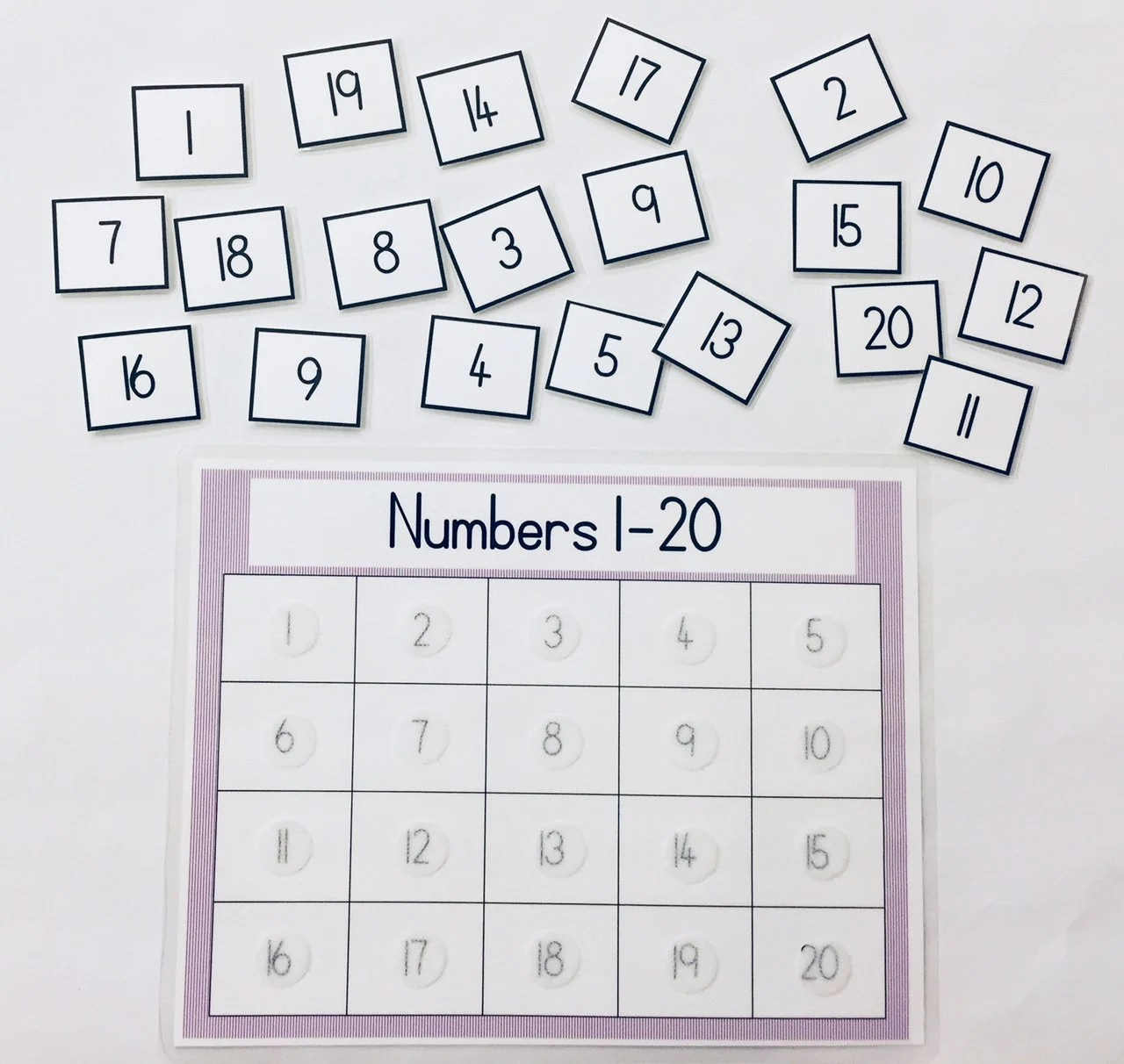 Kids Games Matching Numbers 1 20 Learning Game Educational