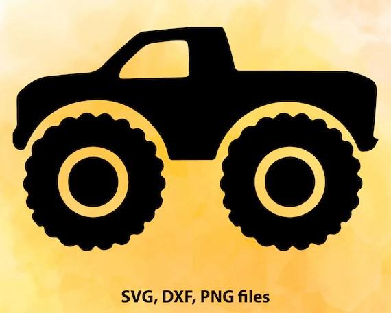 Download Monster Truck SVG File Cutting Template-Vector Clip Art ...