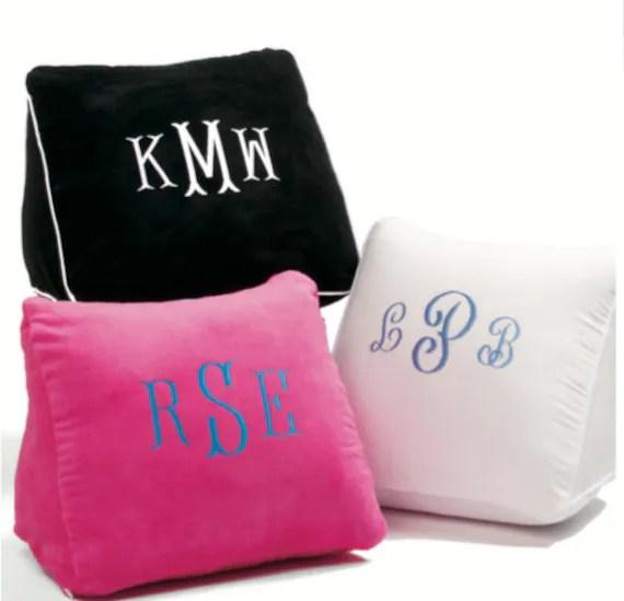 t v wedge pillow graduation gift pillows for college students study pillow reading pillow backrest pillow dorm pillow
