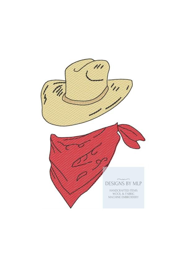 cowboy hat pattern # 18