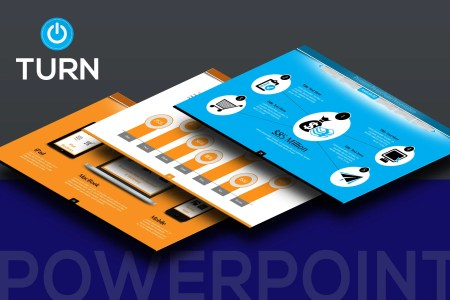 PowerPoint Presentation Template PPT and PPTX File Dark and   Etsy image 0