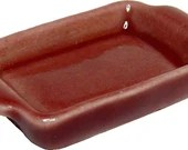Dollhouse Miniature Ceramic Baking Pan, Multiple Colors - 1:12 Scale Mini Kitchen Baking Cooking Accessories