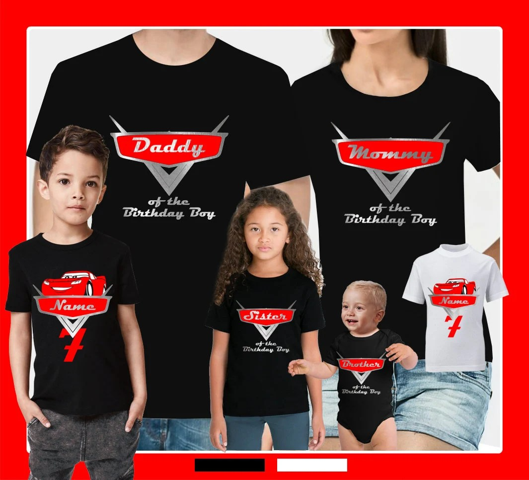 Disney Cars Family Shirts Buy Clothes Shoes Online