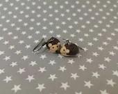 Hedgehogs earrings
