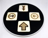 """Wooden """"The arrow"""" optical illusion toy, magic trick"""