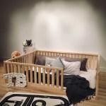 Birch Hardwood Bed Toddler Bed Play Bed Frame Children Bed Etsy