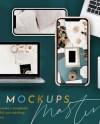 Tech Mockups Masterpack Rose Gold Silver Gold Mockups Etsy