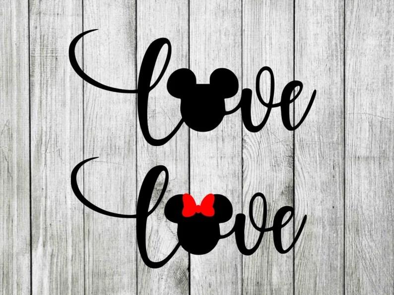 Download Disney love svg disney love wording svg minnie love svg   Etsy