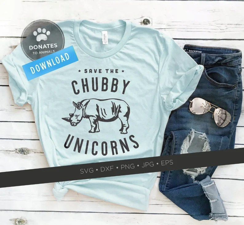 Download Save The Chubby Unicorns SVG Funny Saying Svg Funny SVG ...