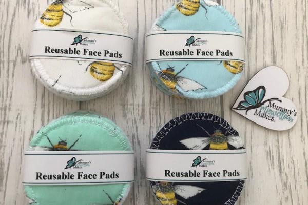 Soft Reusable Face Wipes Zero Waste Makeup Wipes Eye Make Up image 1