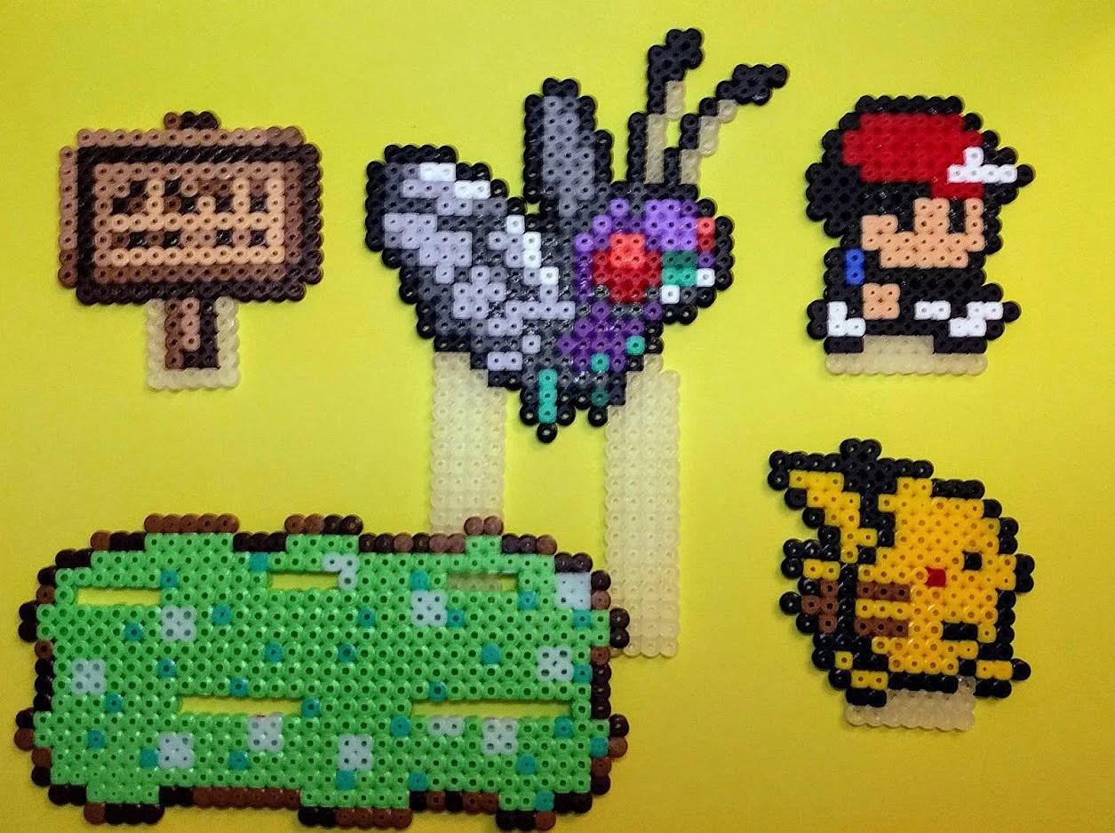 Pixelart Pikachu Zum Perlen Oder Sticken Tshii Kreativshop