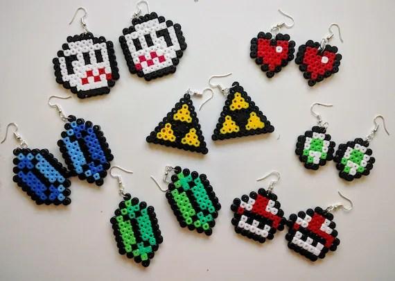 Legend Of Zelda Dreamcatcher Perler Bead Designs Bugelperlen