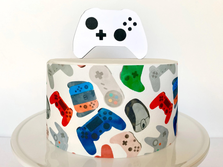 Video Game Cake Etsy