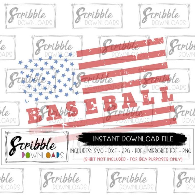 Download BASEBALL SVG american flag baseball love boy girl sports ...