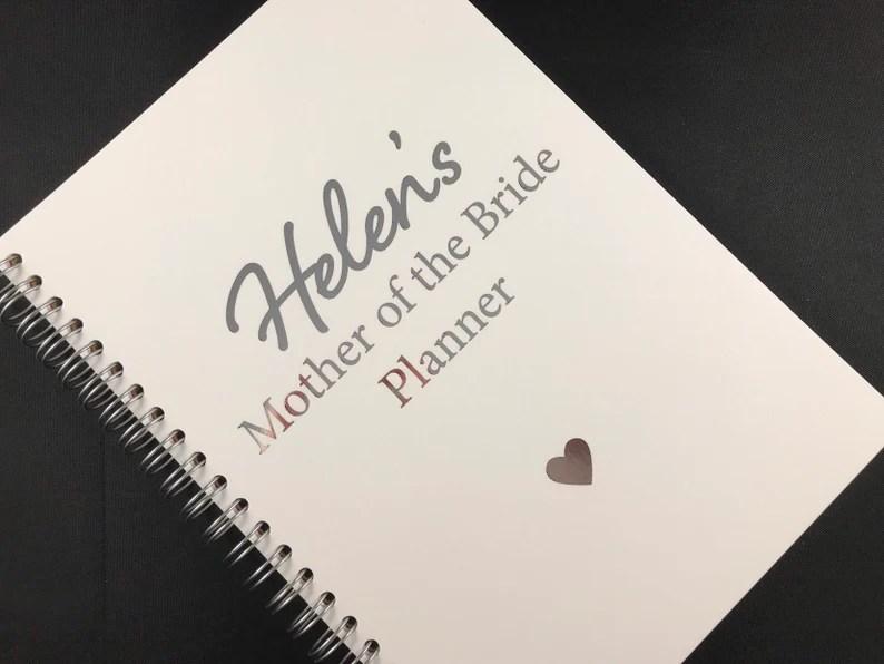 moeder van de bruid notitieboekje
