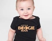 Little Boogie Man - Baby Halloween Dance One-Piece Infant Bodysuit, Baby Shower Gift | Baby Swag by Swing Swag