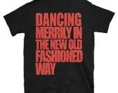 Christmas Dance Shirt for men | Short-Sleeve Unisex T-Shirt | Swing Swag Dancer Gifts