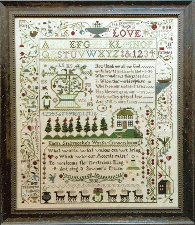 A Saviour's Praise Sampler by Shakespeare's Peddler image 0