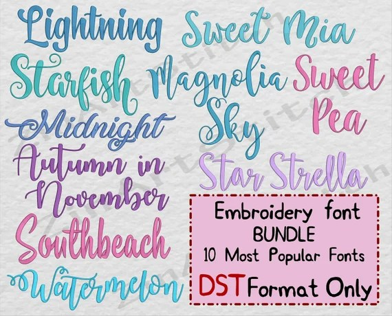 Download Embroidery Fonts Pack 10 Best Sellers embroidery fonts ...