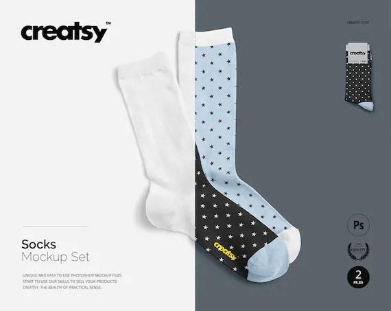 Socks Mockup Set Socks Template Sublimation Socks Blank Socks Foot Biker Socks Personalized Socks Custom Sock Active Man Woman Pair