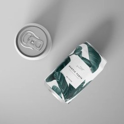 Can Mockup Set Type 1 Can Tempalte Custom Soda Can Etsy