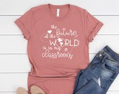 The Future of the World is in My Classroom, You Are Important Kind Enough Inspirational Shirt, Mom Shirt, Gift for Teacher, Teacher Gift
