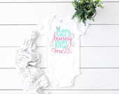 Every Bunny Loves Me Baby Outfit, Baby Girl Easter Outfit, Baby Boy Easter Outfit, Newborn Coming Home Outfit, First Easter