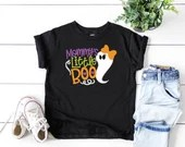 Mommy's Little Boo Halloween Shirt, Girl Halloween Shirt, Holiday Outfit, 1st Halloween Outfit, Toddler Halloween Shirt
