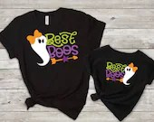 Set of 2, Mommy and Me Outfits, Best Boos Matching Shirt Set, Matching Halloween shirt set, mama & me, mom and daughter, mom and son
