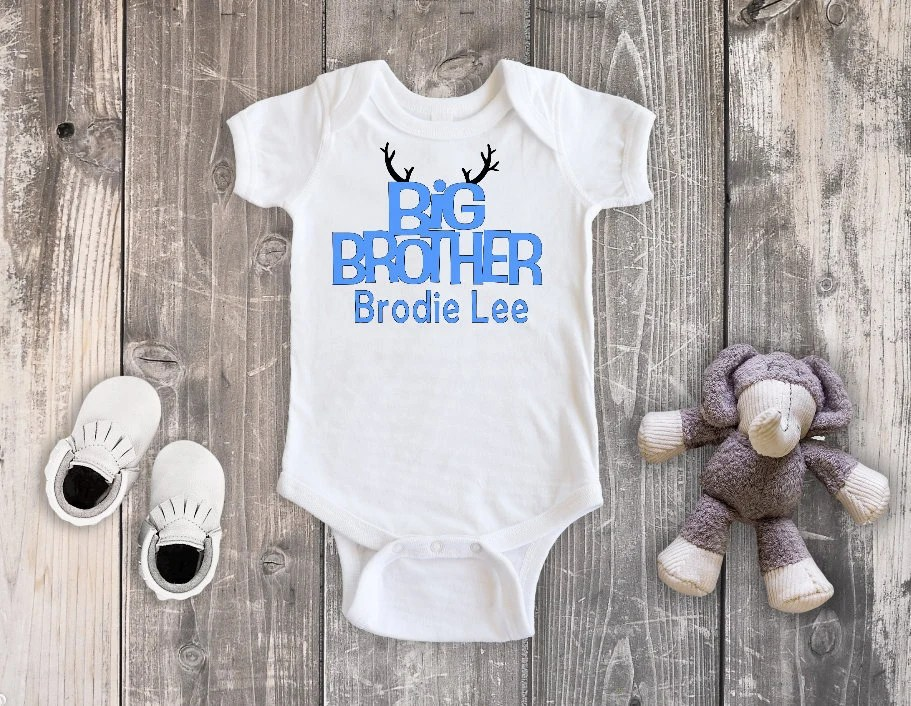 Big Brother Bodysuit, Big Brother Announcement Shirt, Big Brother Shirt, Pregnancy Announcement
