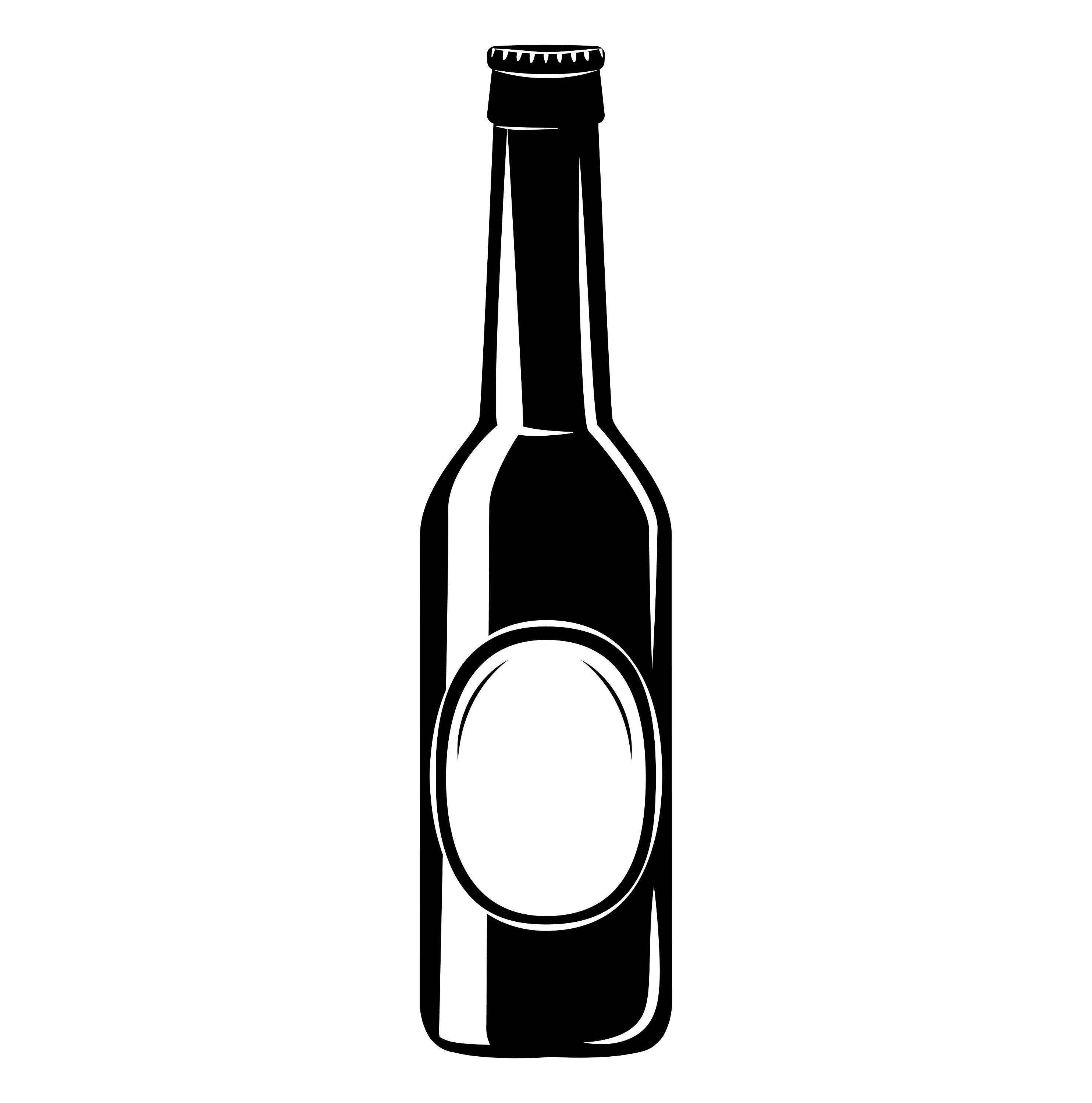 Beer Bottle Icon Svg Alcohol Drink Craft Beer Brewery