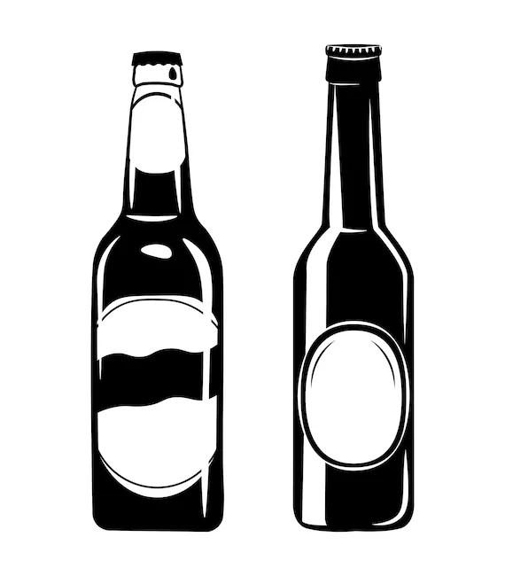 Download Beer Bottles SVG Alcohol Drink Vintage vector Cider ale   Etsy