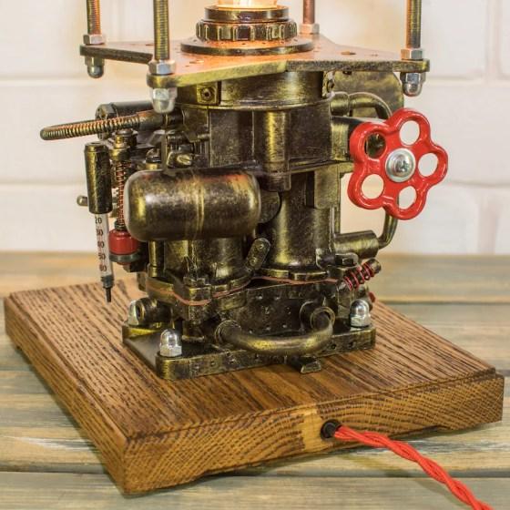 Industrial Steampunk Lamp.